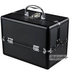 Kufer kosmetyczny HZ01 BLACK