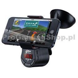 Uchwyt samochodowy z nadajnikiem FM do Sony Xperia J - ST26i