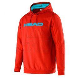 Bluza tenisowa Head Transition M Byron Hoody M 811576 czerwona