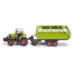 Siku, model Traktor Claas z przyczepą