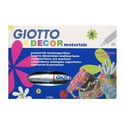 Giotto Decor materials Flamastry 6 sztuk