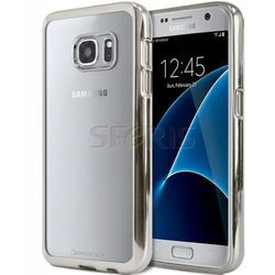 Etui Ring 2 do Samsung Galaxy S7 Edge srebrny - RS-S7E-S