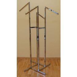 Stojak metalowy ''krzyżak'' model SL - chromowany