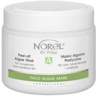 Norel (Dr Wilsz) PEEL-OFF ALGAE MASK ALMONDS & PISTACHIO NUTS Plastyczna maska algowa pistacjowa (PN296)