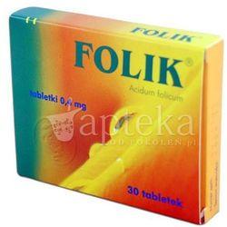 Folik 30 tabl tabl. 0,4 mg
