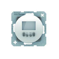 Regulator temp. ze sterownikiem czasowym ze stykiem zmiennym biały Berker seria R - 20452089