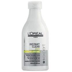 L'Oreal INSTANT CLEAR PURE SHAMPOO Szampon przeciwłupieżowy do włosów normalnych i tłustych (250 ML)