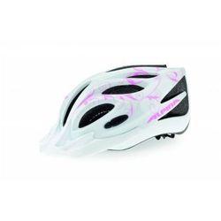 ALPINA FB Junior 2.0 - Kask rowerowy młodzieżowy, 50-55cm - White-Cyan-Silver (50-55cm)