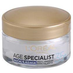 L'Oréal Paris Age Specialist 35+ krem na noc przeciw zmarszczkom + do każdego zamówienia upominek.