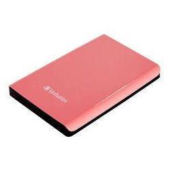 Zewnętrzny dysk twardy Verbatim Store 'n' Go 500GB (53170) Różowy