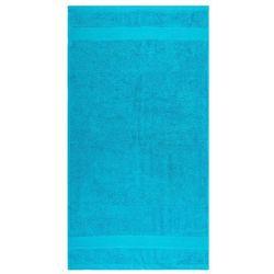 Ręcznik Olivia turkusowy, 50 x 90 cm, 50 x 90 cm