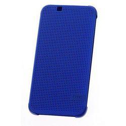 HTC M140 Dot View etui do Desire 620 (niebieskie) - niebieskie
