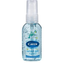 CAREX 50ml Splash Gel Żel antybakteryjny do mycia rąk