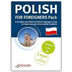 Polski Dla Cudzoziemców Pakiet. Polish For Foreigners Pack. Kurs Audio (2 X Książka + 4 X Audio Cd + Mp3) (opr. twarda)