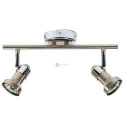 Plafon LAMPA sufitowa ARKON 92-73917 Candellux metalowa OPRAWA halogenowa LISTWA satyna chrom