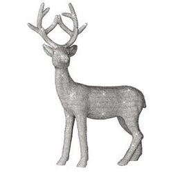 Figurka dekoracyjna pozłacana Deer