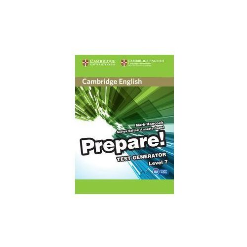 Cambridge English Prepare! Test Generator Level 7 CD-ROM