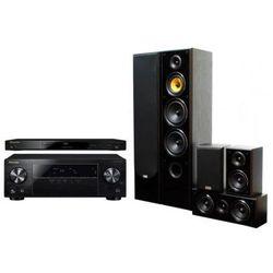 Kino domowe PIONEER VSX-430-K + BDP-100-K + TAV-606 v.3 Czarny