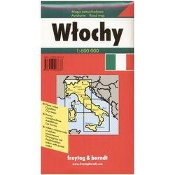 Włochy. Mapa samochodowa