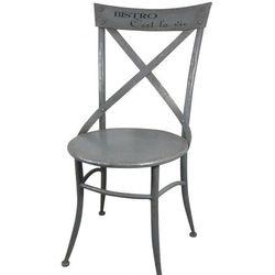 Chic Antique: Metalowe Krzesło Bistro