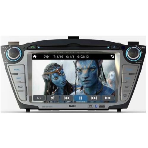 GMS 7243 NAVI+ Multimedialna stacja nawigacja dedykowana do HYUNDAI IX35 od 2009