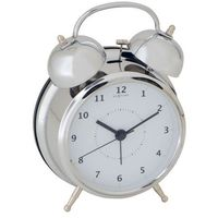 Budzik Wake Up silver, 12,5 cm - 12,50 cm