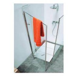 Drzwi prysznicowe Flaminia Bamboo szkło: kryształ, profil: chrom, szer. 90 - 120 cm 50B120