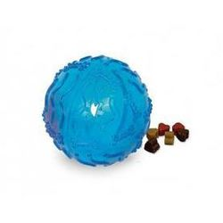 Zabawka dla zwierząt Nobby Snack Ball TRP piłeczka na przekąski 10cm Niebieska