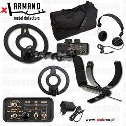 Wykrywacz metali Armand Prospector 4 ZESTAW +torba +słuchawki - zasilanie akumulatorowe, z latarką LED - przeznaczony do militar