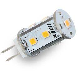 Żarówka LED 9 SMD G4 12V AC/DC 1,8W biała ciepła CORN - biała ciepła