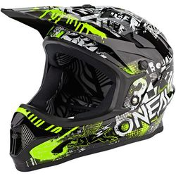 O'Neal Backflip Kask Attack, black/neon yellow L | 59-60cm 2020 Kaski rowerowe