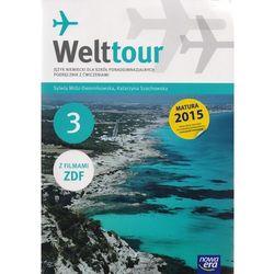 Welttour 3 Język niemiecki Podręcznik z ćwiczeniami + 2CD (opr. miękka)
