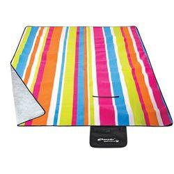 Koc piknikowy SPOKEY RAINBOW 150x130 cm