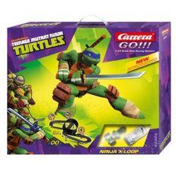 CARRERA GO!!! Zestaw torów Ninja Turtles X-Loop