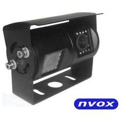 Samochodowa podwójna kamera cofania 4 PIN CCD w metalowej obudowie 12V 24V