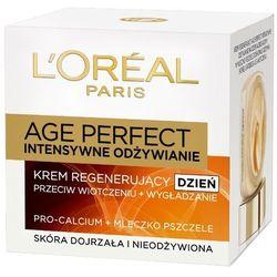 LOREAL Paris 50ml Age Perfect Intensywne odżywianie Krem regenerujący