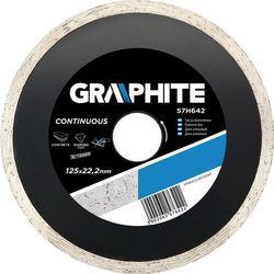 Tarcza do cięcia GRAPHITE 57H640 115 x 22.2 mm diamentowa pełna