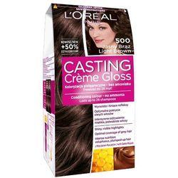 LOREAL Paris Casting Creme Gloss 500 Jasny brąz Farba do włosów