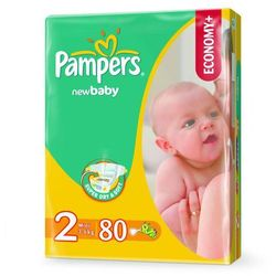 Pampers New Baby-Dry roz. 2 Mini Economy Pack 80 szt.