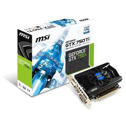 MSI GeForce GTX750Ti 1024MB 128bit OC