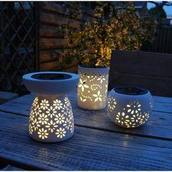 Luxform Lampa ogrodowa LED - gliniane słoiki 6 szt. Darmowa wysyłka i zwroty