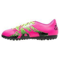 adidas Performance X 15.4 TF Korki Turfy shock pink/solar green/core black