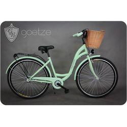 Goetze rower miejski 3B LTD + kosz pistacjowy 18