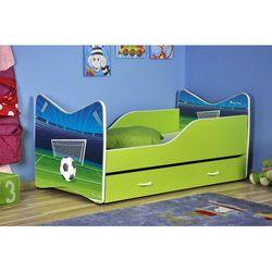 Łóżko parterowe Ken 140 x 70 + szuflada