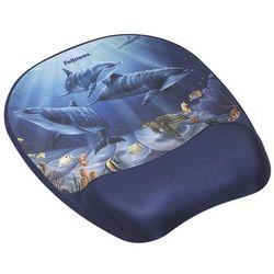 Podkładka pod mysz i nadgarstek Fellowes - 9175701 delfiny