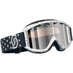 GOGLE SCOTT AURA rockette white (black chrome)
