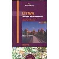 Litwa i Obwód Kaliningradzki Mapa turystyczna 1:500 000 (opr. miękka)