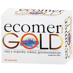 Ecomer gold 500 mg x 60 kaps (data ważności 31.01.2014)
