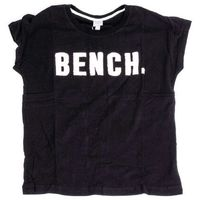koszulka BENCH - New Logo Tee Black Beauty (BK11179)