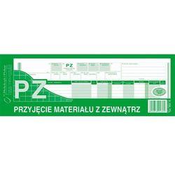 Przyjęcie materiałów z zewnątrz PZ Michalczyk&Prokop 362-0 - 1/2 A4 (wielokopia)